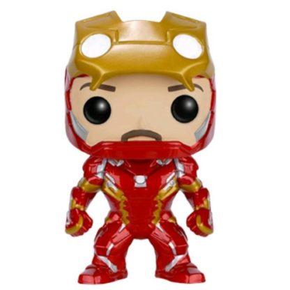 Civil War Iron Man Unmasked Funko Pop