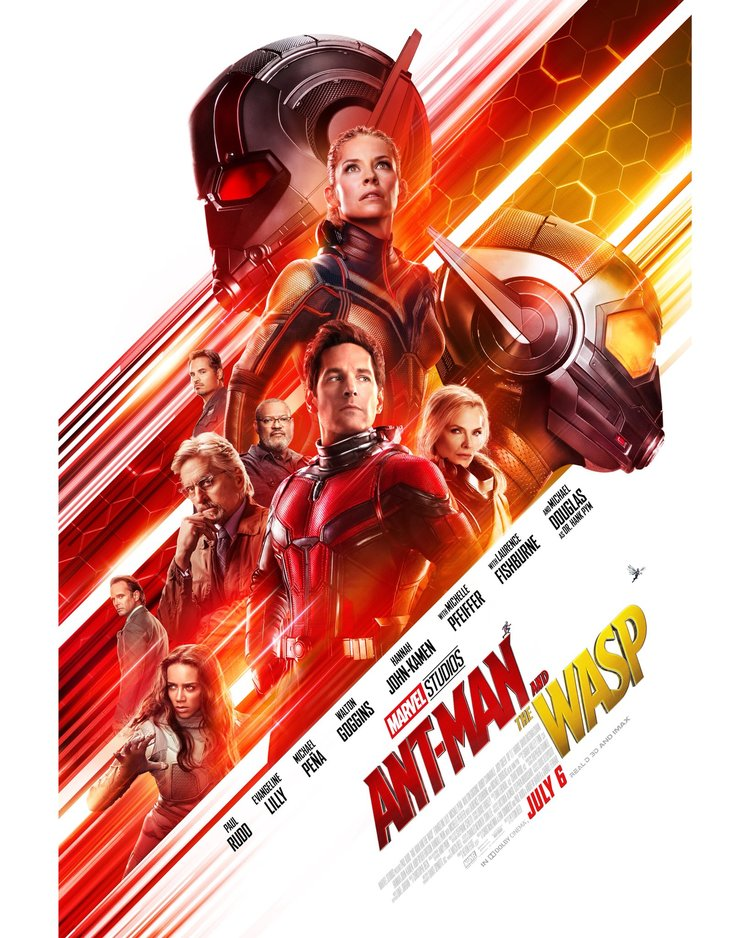 Film Poster for Ant-Man and The Wasp