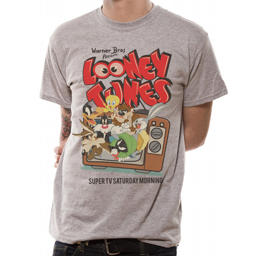 Looney Toons Retro TV T-shirt by Geekvault