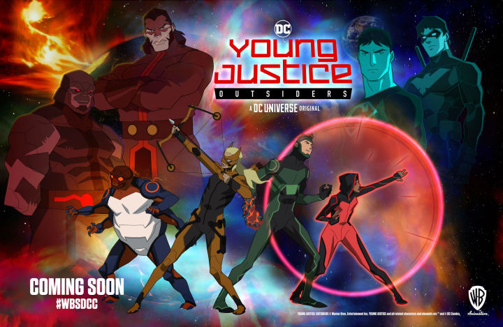 young justice trailer dump