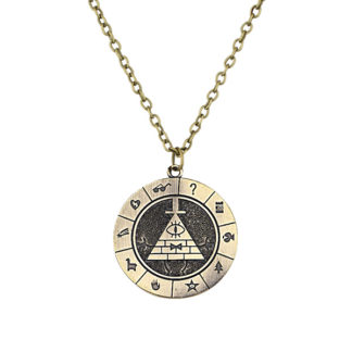 bill cipher necklace