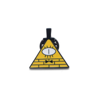 bill cipher pin