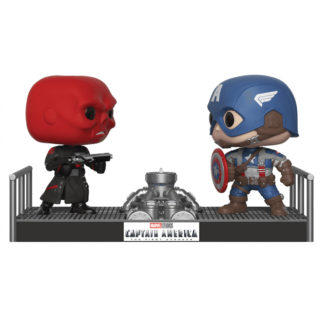 red skull vs captain america