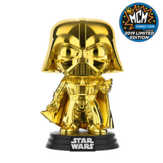 darth vader gold chrome