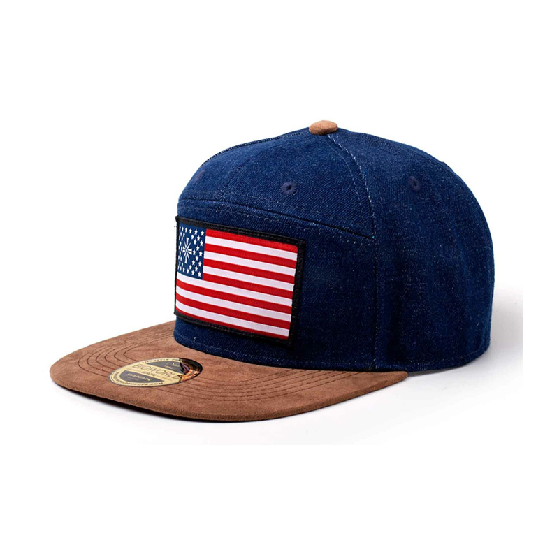 Far Cry 5 American Flag Denim Snapback Geekvault