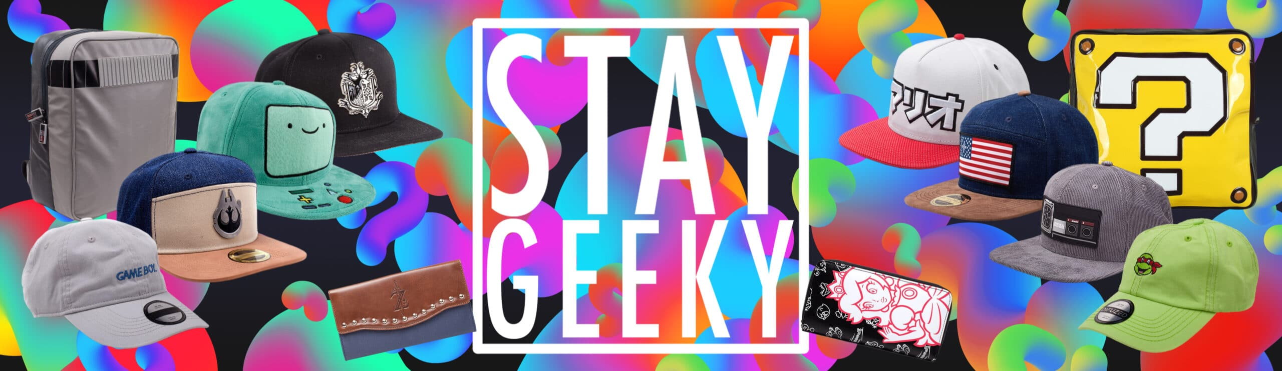 Summer Stock Stay Geeky Banner