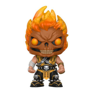 Scorpion flaming skull pop