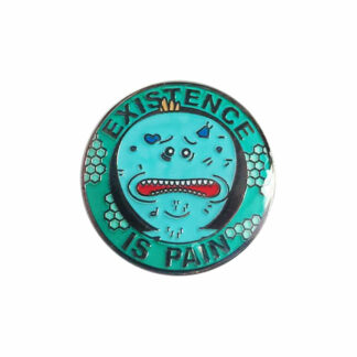 Rick and Morty Mr Meeseeks 'Existence is Pain' Enamel Pin