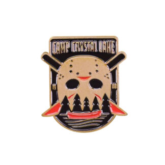 camp crystal lake pin