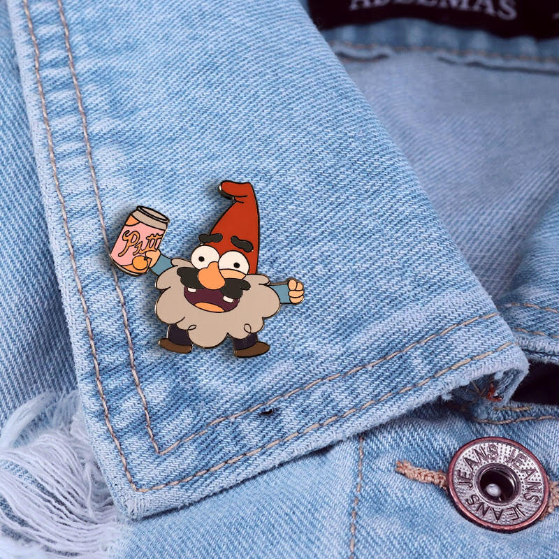 Gravity Falls Pins Set of 4 by SteveHoltisCool on Etsy, $5