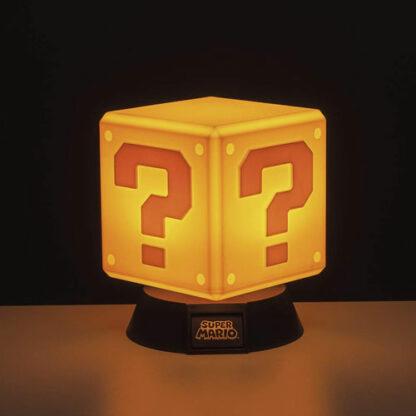 Mario Question Block Light On