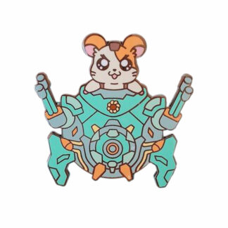 Overwatch Cute Chibi Hammond Enamel Pin