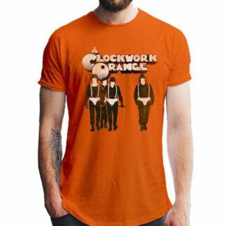 Clockwork Orange silhouette T-shirt on person