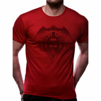 BVS Fear the Batman T-shirt on person