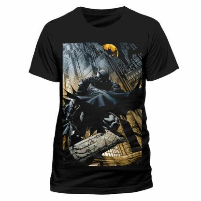 DC Batman Cityscape T-Shirt