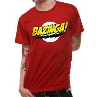 Bazinga T-Shirt on person