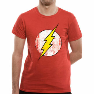 DC The Flash Distressed Symbol T-Shirt