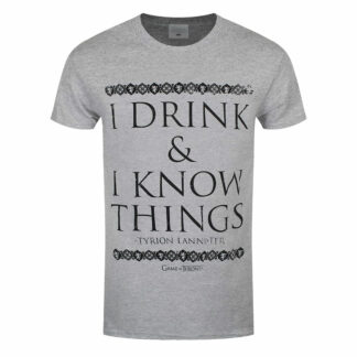 Game Of Thrones I Drink & I Know Things T-Shirt