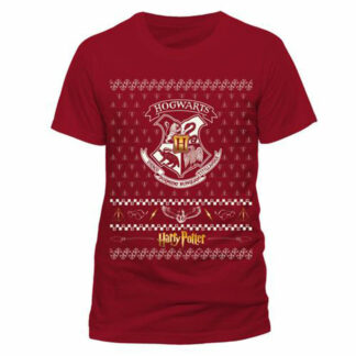 Harry Potter Hogwarts Christmas T-Shirt