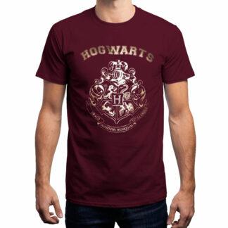 Harry Potter Hogwarts gold crest T-Shirt