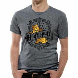 Harry Potter Hufflepuff Gold Crest T-Shirt