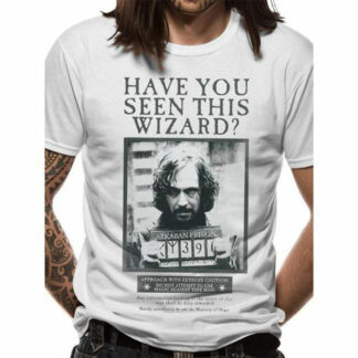 Harry Potter - Sirius Black Wanted Poster T-Shirt