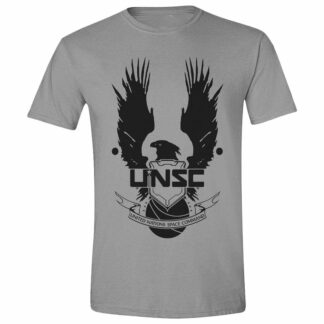 Halo UNSC Logo Cotton Grey T-Shirt