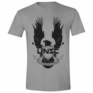 Halo UNSC Logo Cotton Grey T-Shirt