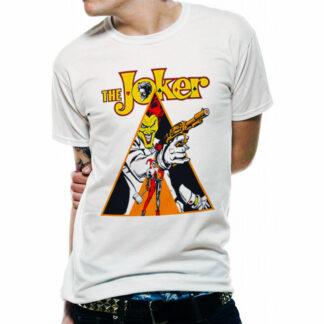 DC The Joker Clockwork Orange T-Shirt On Person