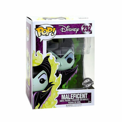 Maleficent Green Flame Funko Pop Boxed