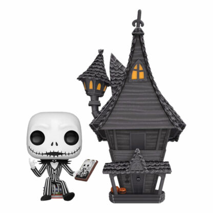 Nightmare Before Christmas Jack Skellington & House POP