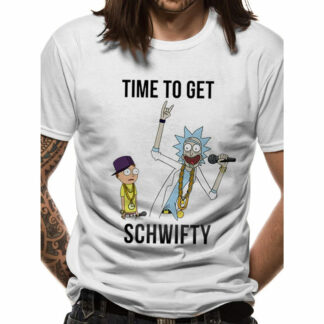 Rick & Morty Time To Get Shwifty T-Shirt