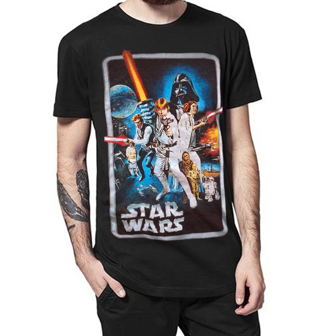 star wars t shirt a new hope