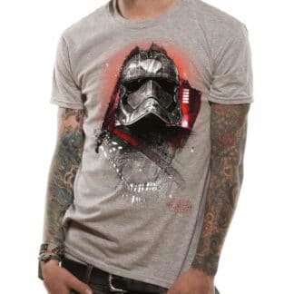 Star Wars Cpt. Phasma Grey T-Shirt On Person