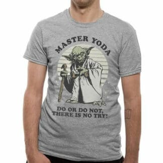 Star Wars Master Yoda There Is No Try T-Shirt