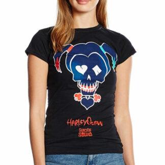 Suicide Squad Harley Quinn Logo T-Shirt