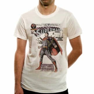 DC Comic Superman The Amazing New Adventures of Superman T-shirt