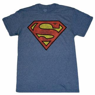 Superman Distressed Classic Logo