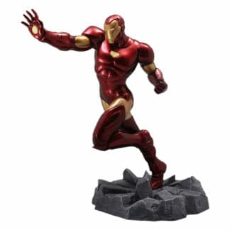 civil war iron man statue