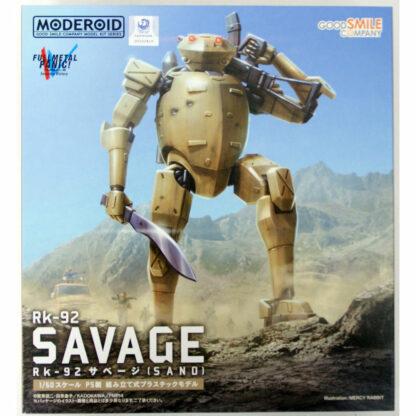 Full Metal Panic! Invisible Victory Moderoid Plastic Model Kit Rk-92 Savage (SAND) Box