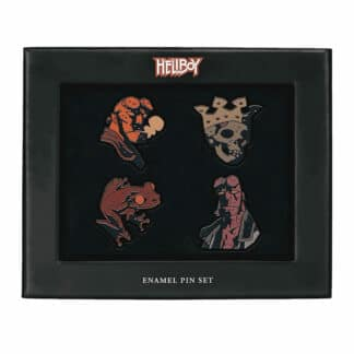Hellboy Enamel Pin Badge 4 Pack