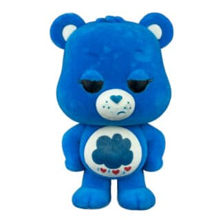 grumpy bear flocked pop