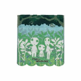 Princess Mononoke Mini Towel Kodama 34 x 36 cm