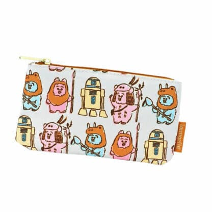 Star Wars by Loungefly Coin/Cosmetic Bag Pastel Ewoks AOP