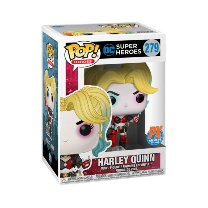 Funko POP! DC HARLEY QUINN (with Boombox) PX Previews #279 Boxed