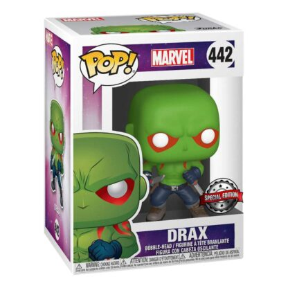 Marvel: Guardians Of The Galaxy Funko POP! VINYL #442DRAX (FIRST APPEARANCE) Boxed