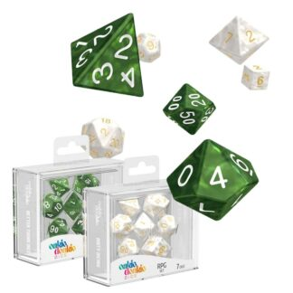 Oakie Doakie Dice RPG Set Marble