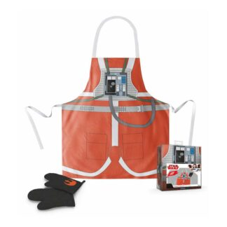 Star Wars X-Wing Pilot Cooking Apron With Oven Mitt