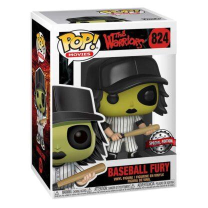 Movies: The Warriors Funko Pop! Vinyl #824 Baseball Fury (Green) Exclusive Boxed