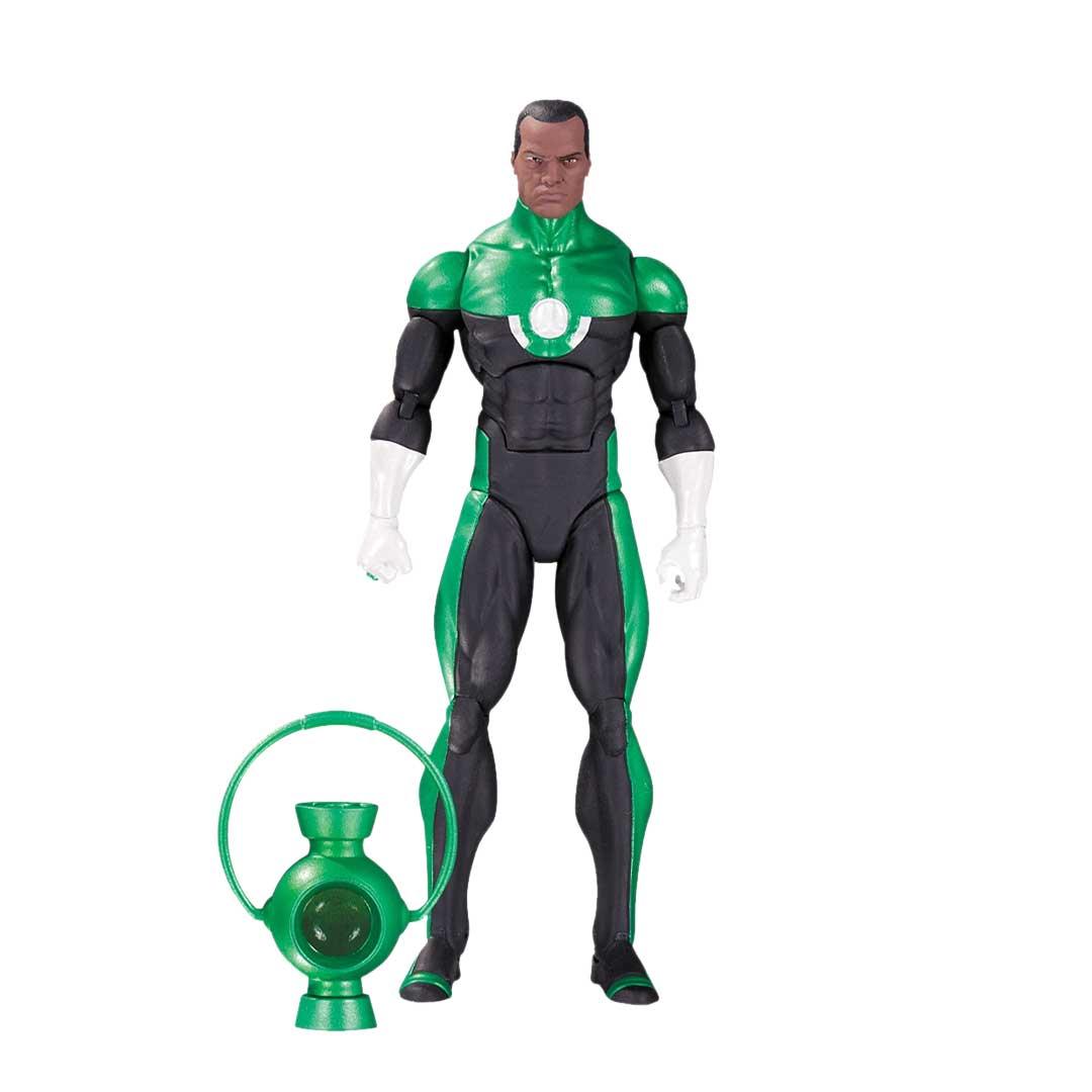 Dc Icons Green Lantern John Stewart Mosaic Action Figure Geekvault